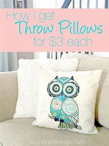 adorable pillow covers on sale for less than 3 each With cheapest place to get throw pillows