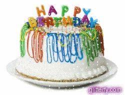 Glitterfy com - Happy Birthday Glitter Graphics Facebook
