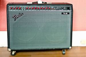 File Fender Pro 185 Solid State Amp  2x12 U0026quot  Early