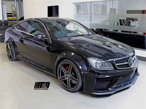mercedes c klasse w204 tuning f 252 r mercedes c klasse c coupe w204 black edition md exclusive cardesign