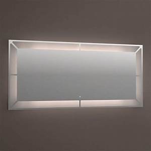 miroir lumineux led anti buee 120 et 150 cm With miroir anti buée 120
