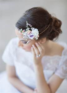 Lilac Bridal Hair Accessories Floral Circlet 2226186