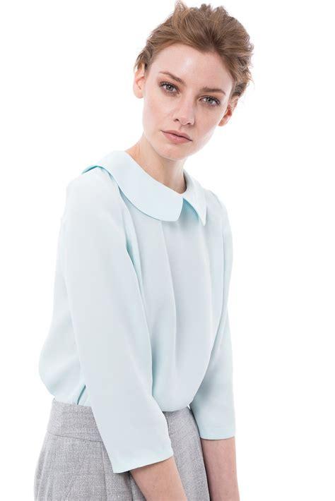collar blouse pan collar blouse chemistry