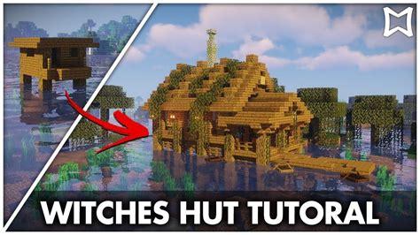 minecraft lets transform  witches hut tutorial minecraft witch hut witches hut minecraft