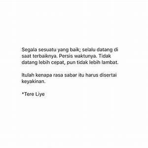 Pin by Siti Almira Dania on Islamic | Quotes indonesia ...