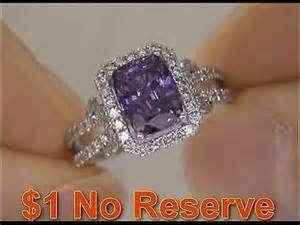 engagement rings with purple diamonds estate purple sapphire engagement wedding ring