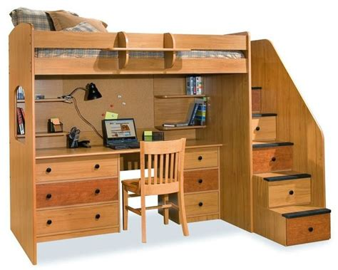 Bunk Bed Desk Combo Plans by 25 Best Ideas About Bunk Bed Desk On Bunk Bed