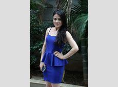 Radhika Madan Looks Super Sexy In Blue Dress On The Sets