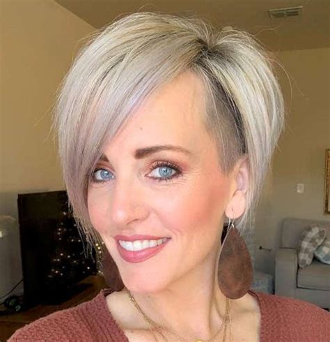 haley young short hairstyles  fashion  women