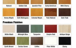 cabinet coat color chart decorbold