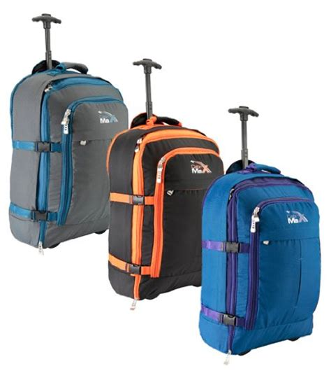 Cabin Max Trolley Backpack Cabin Max Malmo Multi Function Expandable Trolley Backpack