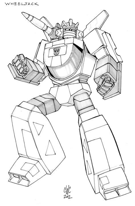 Transformers G1 Coloring Pages - Eskayalitim