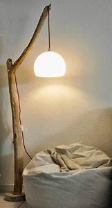 Lampe Sur Pied En Bois : 17 meilleures id es propos de lampe pied bois sur ~ Dailycaller-alerts.com Idées de Décoration