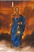 African Warrior Woman ...