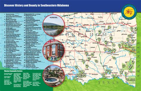 Choctaw Nation Map