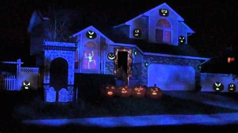 bates haunt  projection mapping show youtube