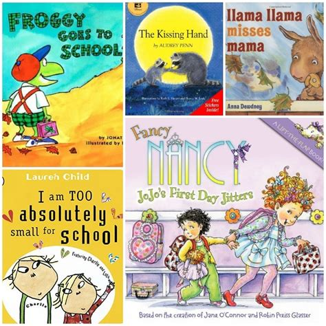 encouraging books about the day of preschool 930 | preschool collage3