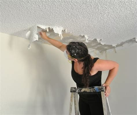 joy  popcorn ceiling removal centsational girl