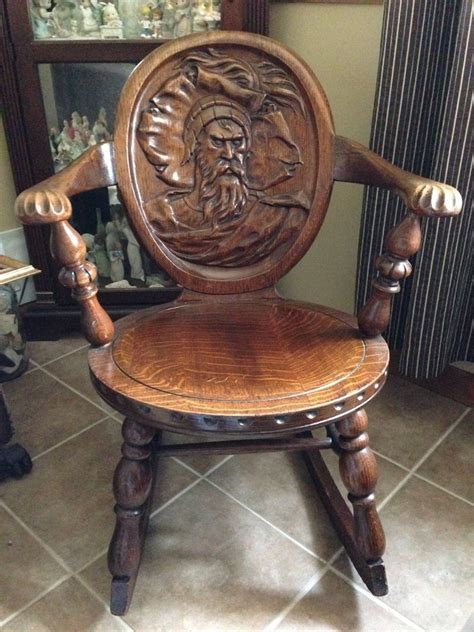 rocking chair  antique furniture collection