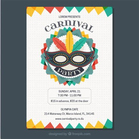 colorful flyer psd template free download carnival flyer template colorful carnival flyer template