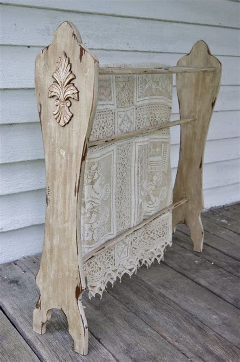 build  wooden quilt rack woodworking projects