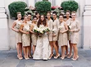 sequin dress bridesmaid wedding trends sequin bridesmaid dresses the magazine
