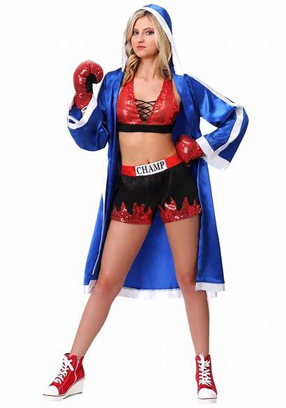 Knockout Boxer Beauty Costume Costumes Womens Halloween