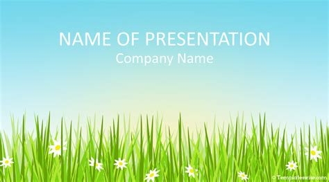 spring powerpoint template templateswisecom