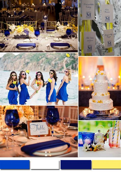 pics for gt yellow and light blue wedding