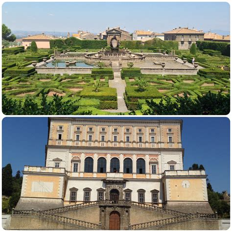 Palazzo Farnese Caprarola Giardini by Foto Giardini Villa Lante A Bagnaia E Palazzo Farnese Di
