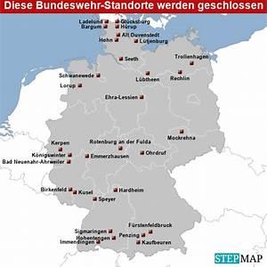 Standorte Der Bundeswehr : die gro e liste diese bundeswehr standorte werden geschlossen ~ Watch28wear.com Haus und Dekorationen