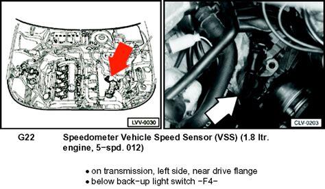 remove  rear speed sensor    passat