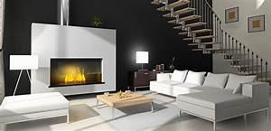 Décoration Intérieure Salon : decoration interieur salon moderne design en image ~ Teatrodelosmanantiales.com Idées de Décoration