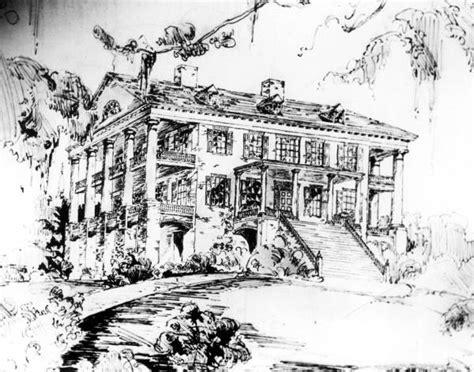florida memory drawing   verdura plantation mansion