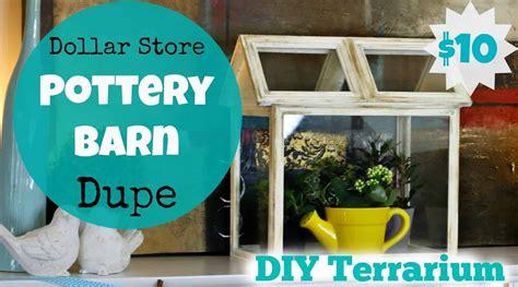dollar store pottery barn dupe diy terrarium
