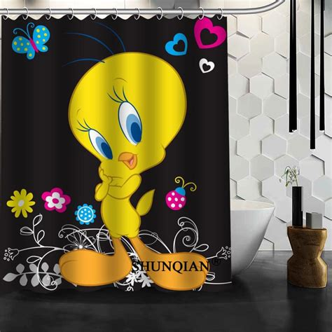 baby tweety bird shower curtain christmas decorations