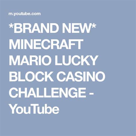 brand  minecraft mario lucky block casino challenge