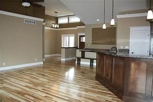 Natural Hickory floors - Traditional - Family Room - Cedar