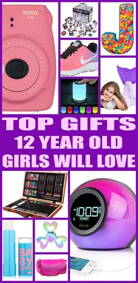 best gifts for 12 year old girls 12th birthday