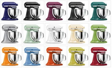 kitchenaid colors miscellaneous kitchenaid mixers colors interior