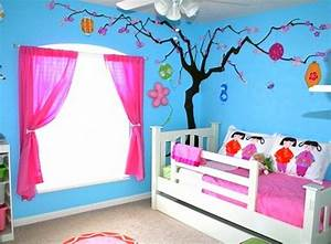 50 kids bedroom decor inspirations godfather style for Simple kids room painting ideas