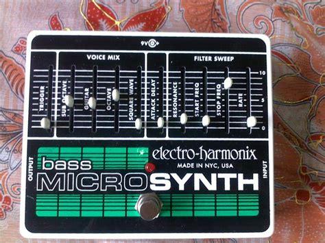 electro harmonix micro synth sound templates electro harmonix bass micro synth image 546737