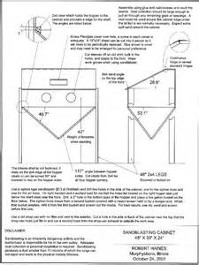 sandblast cabinet plans pdf woodworking
