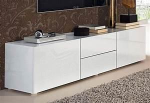 Designer Lowboard Weiß Hochglanz : places of style lowboard breite 139 cm kaufen otto ~ Bigdaddyawards.com Haus und Dekorationen