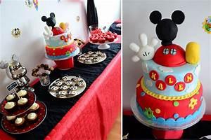 Decor Gateau Anniversaire : decoration gateau anniversaire mickey ~ Melissatoandfro.com Idées de Décoration