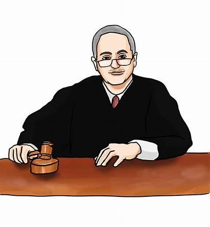 Judge Clipart Justice Chief Clip Cliparts Judges
