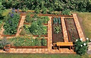 Raised Garden Bed Plans design   Landscaping - Gardening Ideas