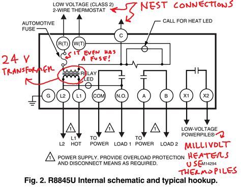 controlling  ancient millivolt heater   nest