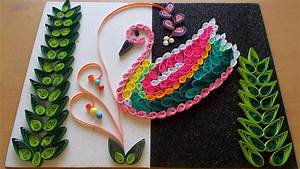 Diy home decor with paper quilling art amazing room