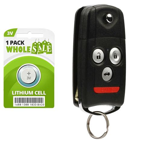 replacement for 2009 2010 2011 2012 2013 2014 acura tsx key fob remote ebay